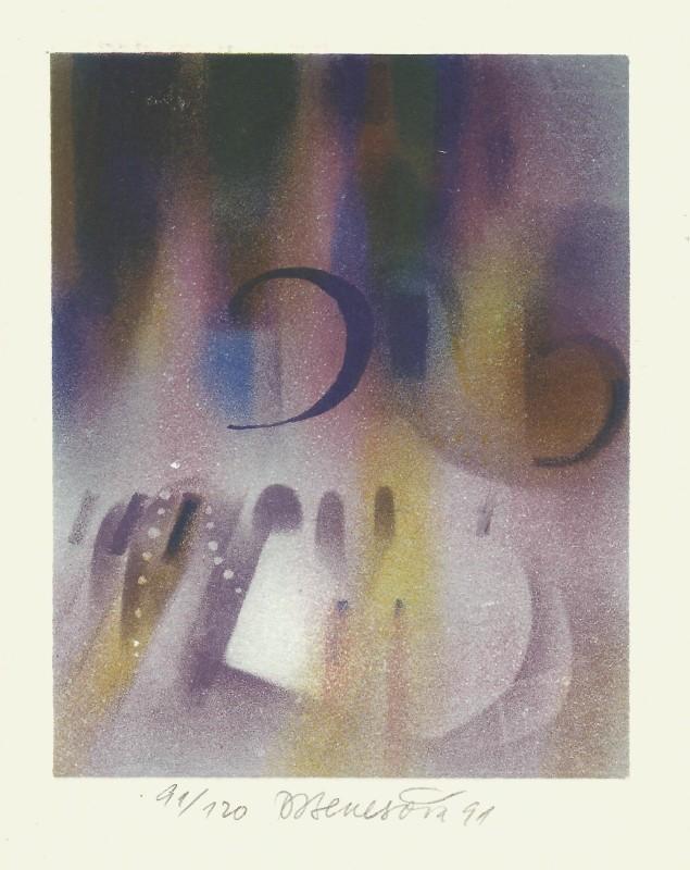 Benešová Daniela - Preludium (Chopin) - Grafika