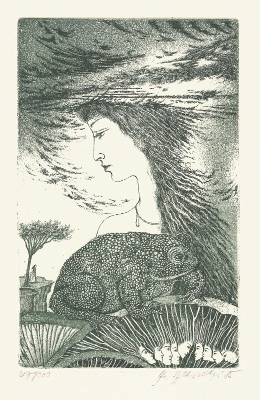 Vychodilová Olga - Hlava v oblacích - Grafika