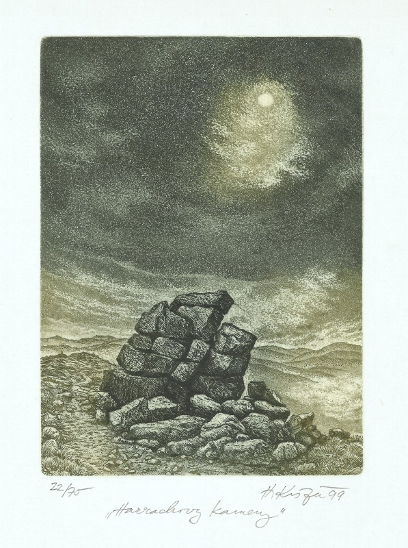 Kisza Herbert - Harrachovy kameny - Grafika