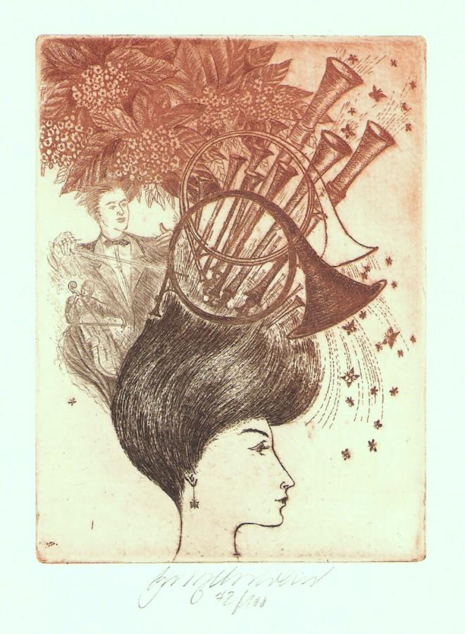 Vychodilová Olga - Múzy - Hudba - Grafika