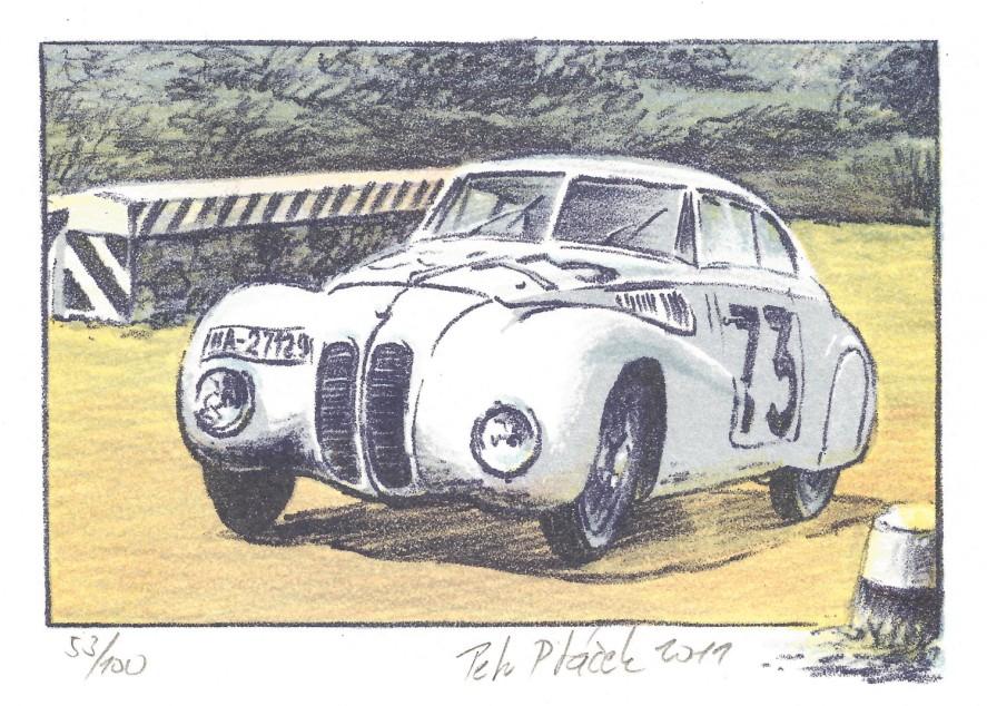 Ptáček Petr - BMW Mille Miglia - Grafika