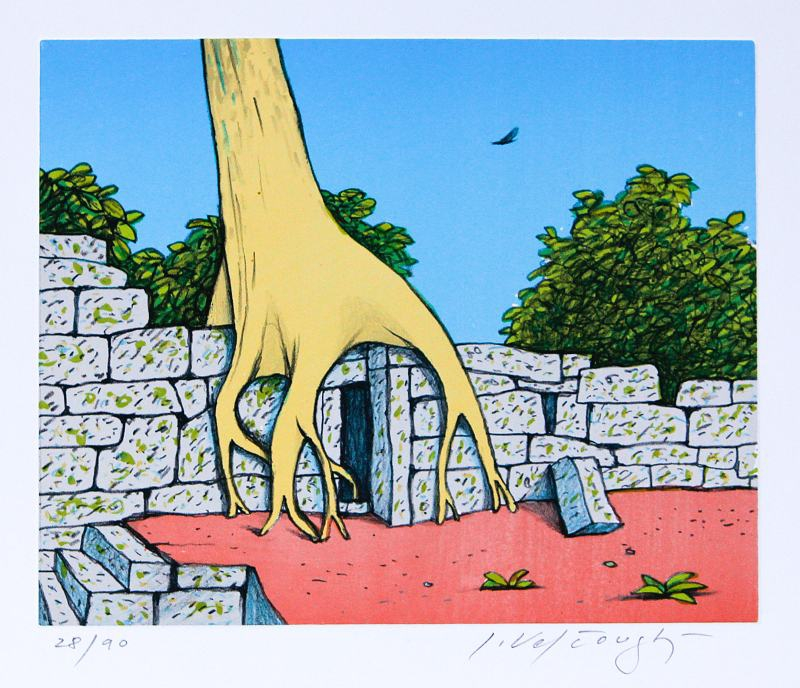 Velčovský Josef - Borobudur - Grafika