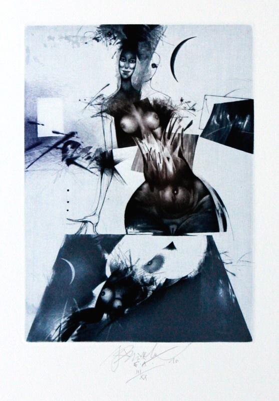 Brázda Jiří - Night Spectacle - Print