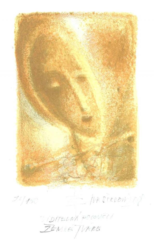 Štrbová Jarošová Iva - Viditelná polovička ženské tváře - Grafika