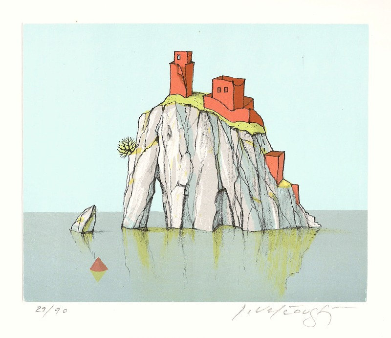 Velčovský Josef - Červený ostrov - Grafika