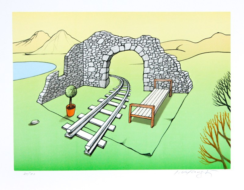Velčovský Josef - Railwayman's Summer Apartment - Print