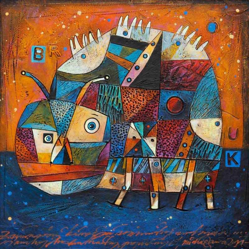 Halva Michal - Brouk - Painting