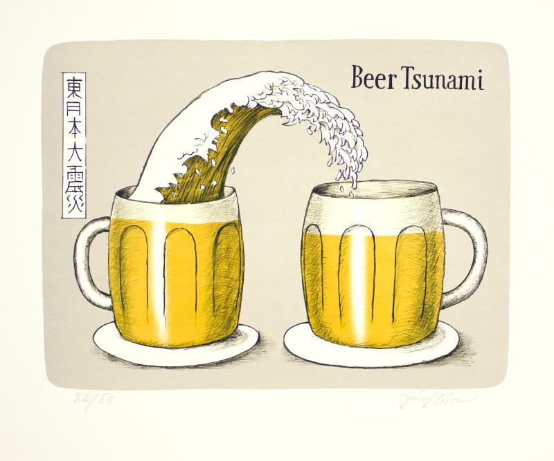 Slíva Jiří - Beer Tsunami  - Grafika
