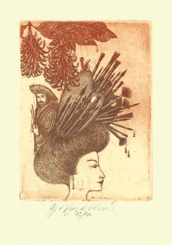 Vychodilová Olga - Múzy – Malířství  - Grafika