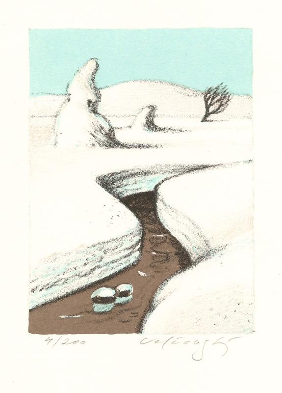 Velčovský Josef - Finnish Winter - Print