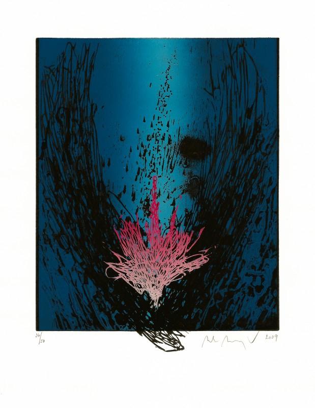 Manojlín Martin - Půlnoční květina II  - Print