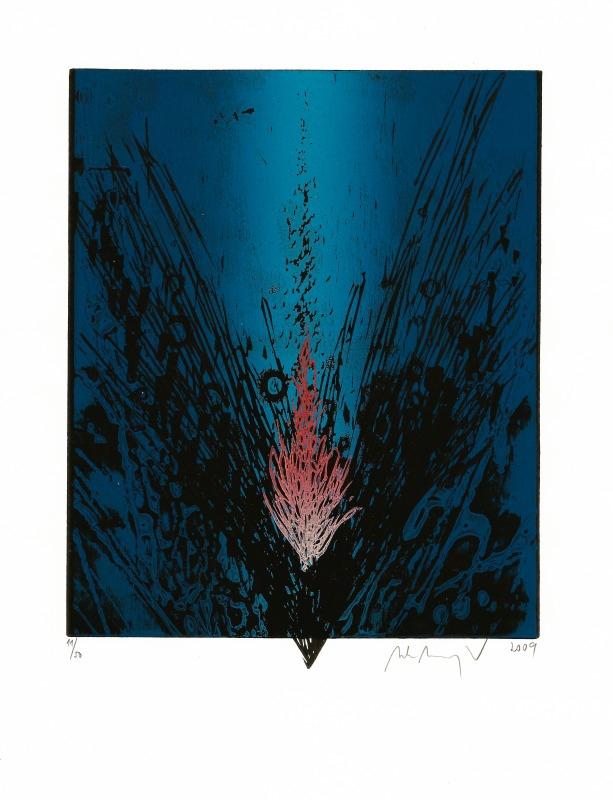 Manojlín Martin - Půlnoční květina I  - Grafika
