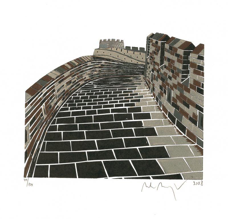Manojlín Martin - Velká čínská zeď II - Grafika