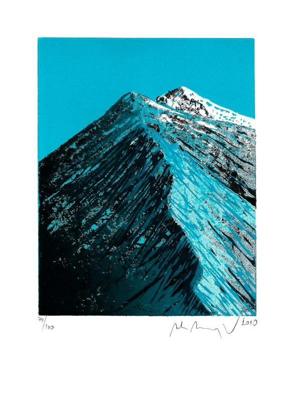 Manojlín Martin - Horský hřeben  - Grafika