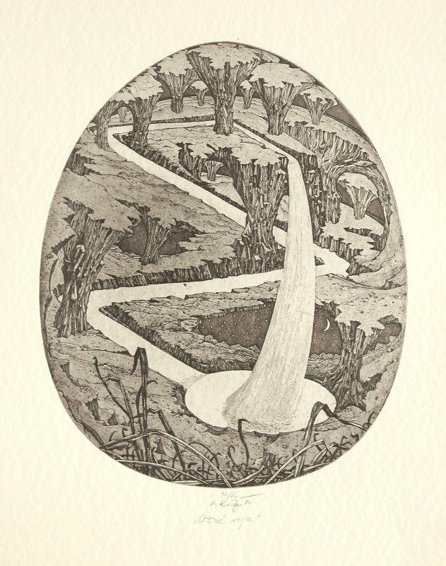 Kisza Herbert - Věčné vejce - Grafika