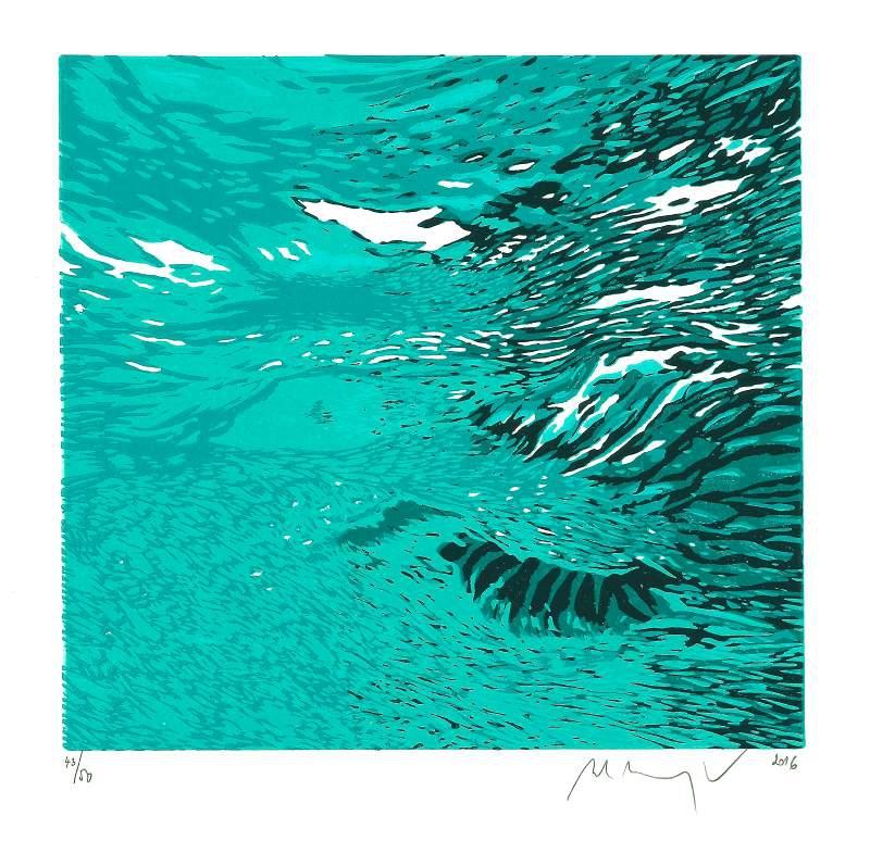 Manojlín Martin - Z cyklu Underwave  - Grafika