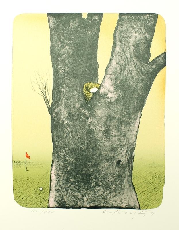 Velčovský Josef - Na golfu - Grafika