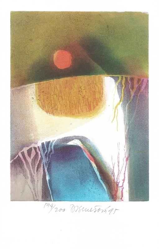 Benešová Daniela - Slunce a Země - Grafika