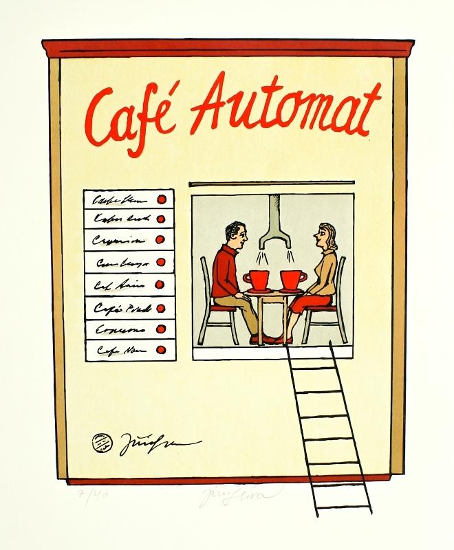Slíva Jiří - Café Automat - Grafika