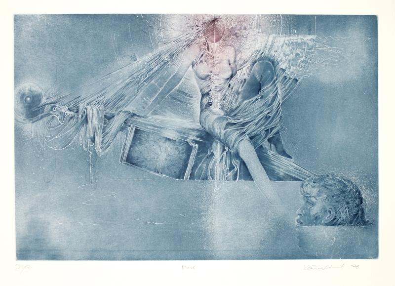 Demel Karel - Moře (Ch. Baudelaire)  - Grafika