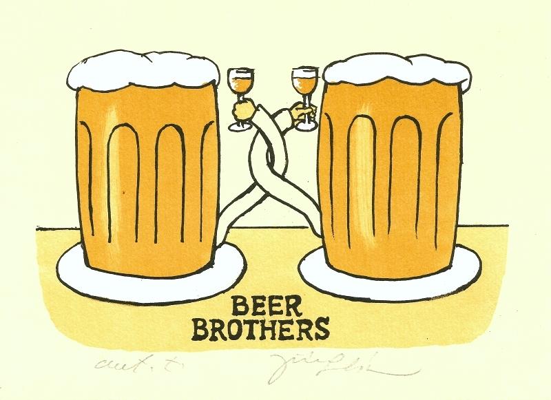 Slíva Jiří - Beer Brothers  - Grafika