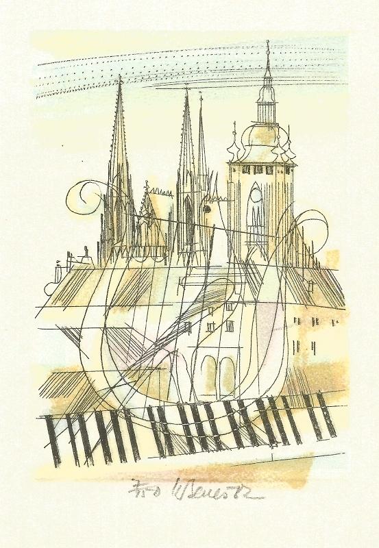 Beneš Karel - Praha - Grafika