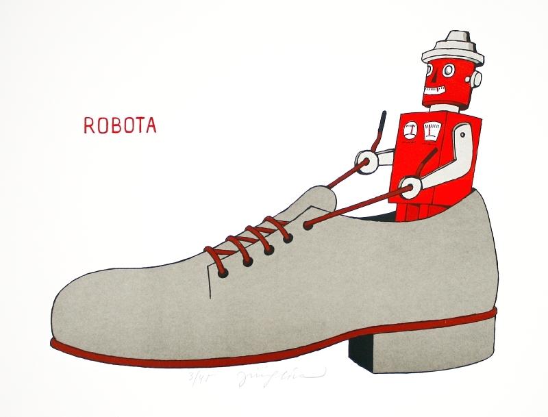 Slíva Jiří - Robota - Grafika