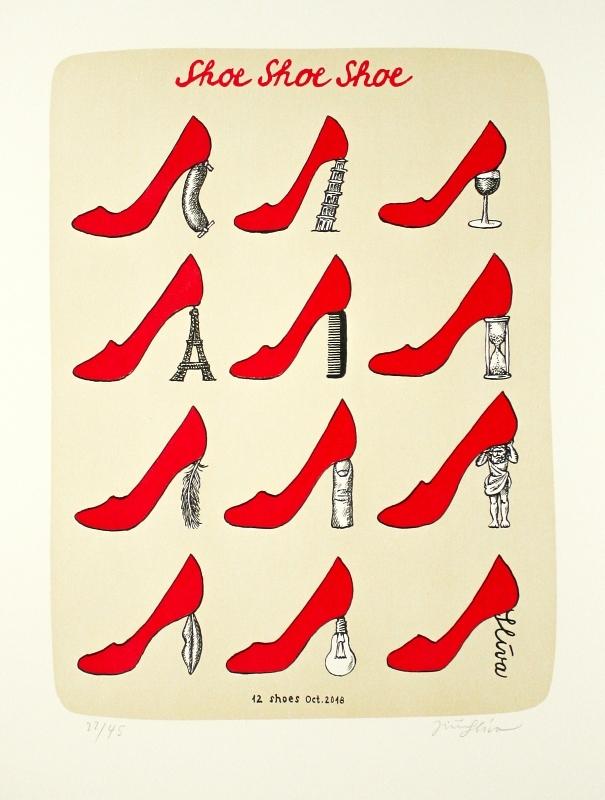 Slíva Jiří - Sho Shoe Shoe  - Grafika