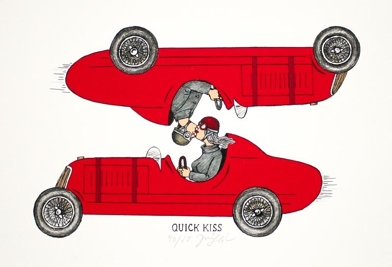 Slíva Jiří - Quick Kiss  - Grafika