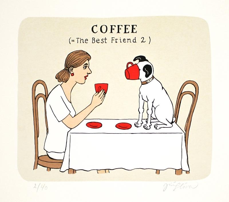 Slíva Jiří - Coffee (= The Best Friend 2)  - Grafika